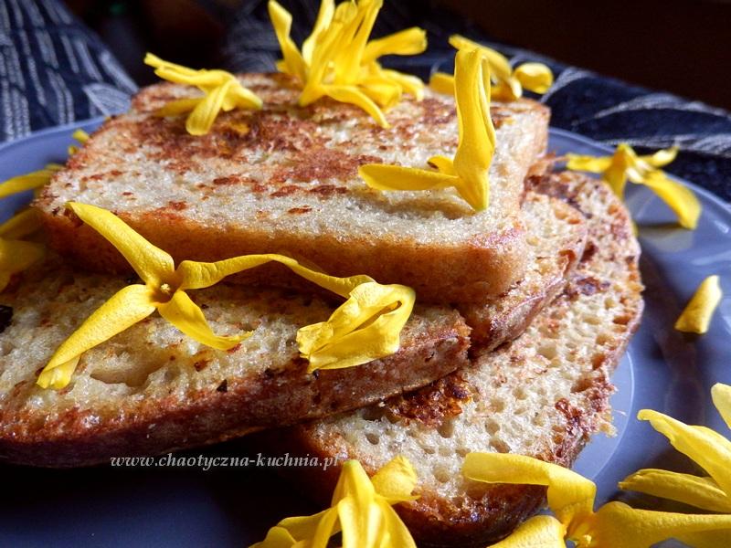 tosty francuskie z forsycją