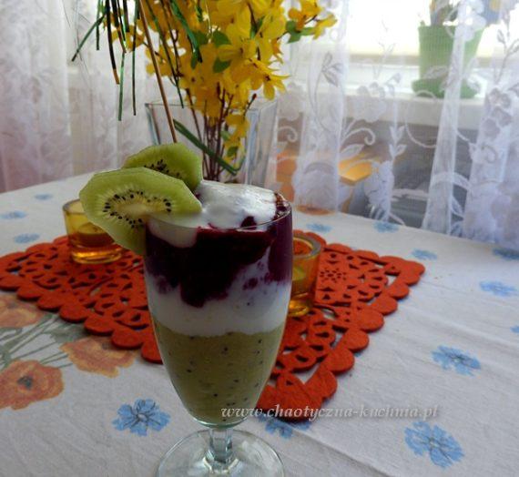 Deser z musów owocowych
